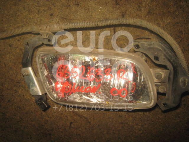 Фара противотуманная правая для Mitsubishi Pajero/Montero III (V6, V7) 2000-2006 - Фото №1