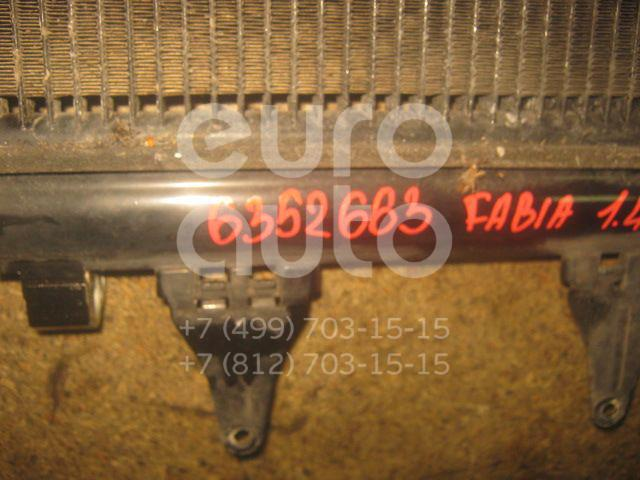 Радиатор кондиционера (конденсер) для Seat Fabia 1999-2006;Polo 2001-2009;Fabia 2007-2015;Roomster 2006>;Cordoba 2003-2008;Ibiza IV 2002-2008 - Фото №1