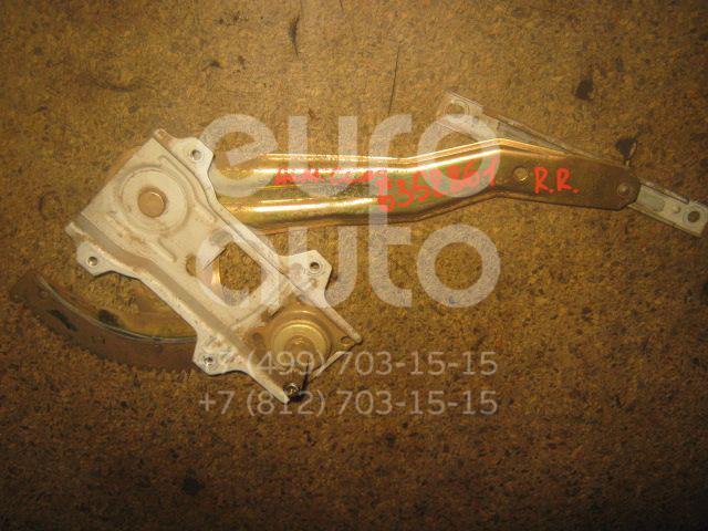 Стеклоподъемник механ. задний правый для Nissan Almera Classic (B10) 2006-2013;Almera N16 2000-2006 - Фото №1