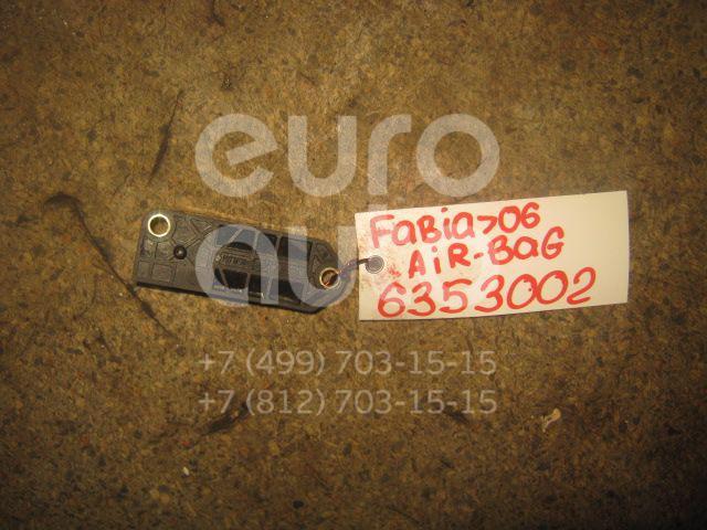 Датчик AIR BAG для Skoda,VW Fabia 1999-2006;Octavia (A4 1U-) 2000-2011;Golf IV/Bora 1997-2005;Sharan 2000-2006;Passat [B5] 2000-2005;Polo 2001-2009;Transporter T5 2003-2015 - Фото №1