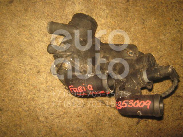 Корпус термостата для Skoda,Audi,VW Fabia 1999-2006;A2 [8Z0] 2000-2005;Octavia (A4 1U-) 2000-2011;New Beetle 1998-2010 - Фото №1