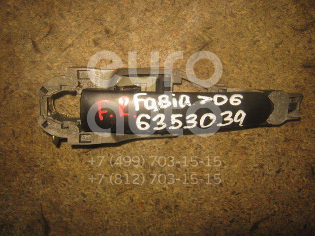 Ручка двери наружная для Skoda,VW Fabia 1999-2006;Octavia (A4 1U-) 2000-2011;Octavia 1997-2000;Golf V 2003-2009;Fabia 2007-2015;Octavia (A5 1Z-) 2004-2013;Roomster 2006-2015 - Фото №1