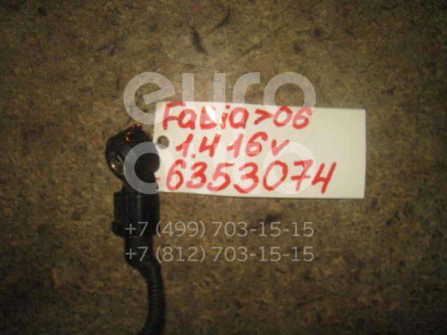 Датчик детонации для Skoda,Audi,Seat,VW Fabia 1999-2007;A2 [8Z0] 2000-2005;A3 (8L1) 1996-2003;TT(8N) 1998-2006;Octavia (A4 1U-) 2000-2011;Leon (1M1) 1999-2006;A6 [C6,4F] 2004-2011;Toledo II 1999-2006;Octavia 1997-2000;Golf IV/Bora 1997-2005 - Фото №1