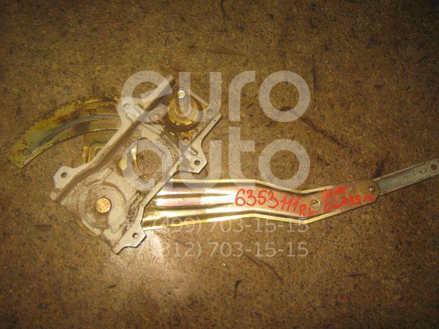 Стеклоподъемник механ. задний левый для Nissan Almera Classic (B10) 2006-2013;Almera N16 2000-2006 - Фото №1