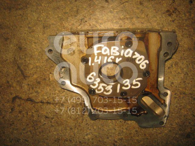 Насос масляный для Skoda,Audi,Seat,VW Fabia 1999-2006;A2 [8Z0] 2000-2005;Octavia (A4 1U-) 2000-2011;Leon (1M1) 1999-2006;Toledo II 1999-2006;Octavia 1997-2000;Golf IV/Bora 1997-2005;Polo 1994-1999;Caddy II 1995-2004;New Beetle 1998-2010 - Фото №1