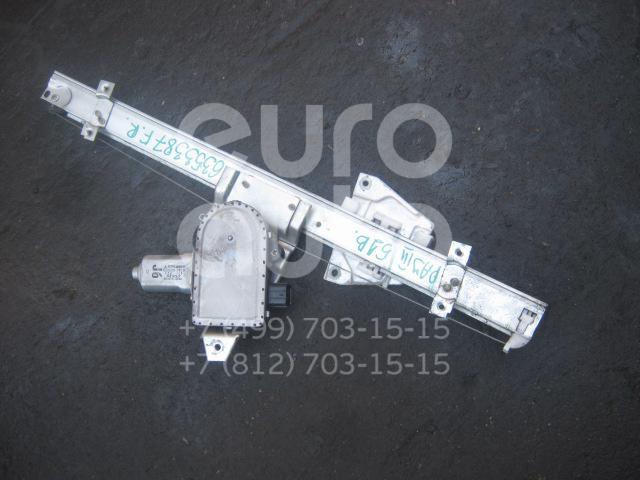 Стеклоподъемник электр. передний правый для Mitsubishi Pajero/Montero (V6, V7) 2000-2006 - Фото №1