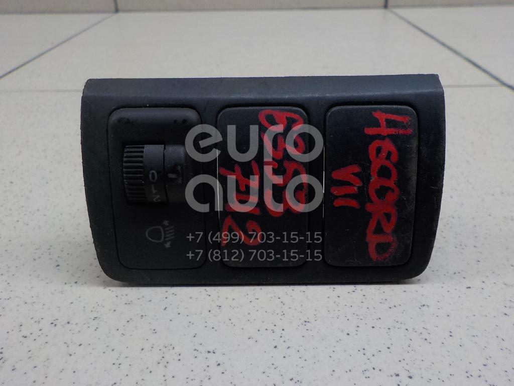 Кнопка корректора фар для Honda Accord VII 2003-2008 - Фото №1