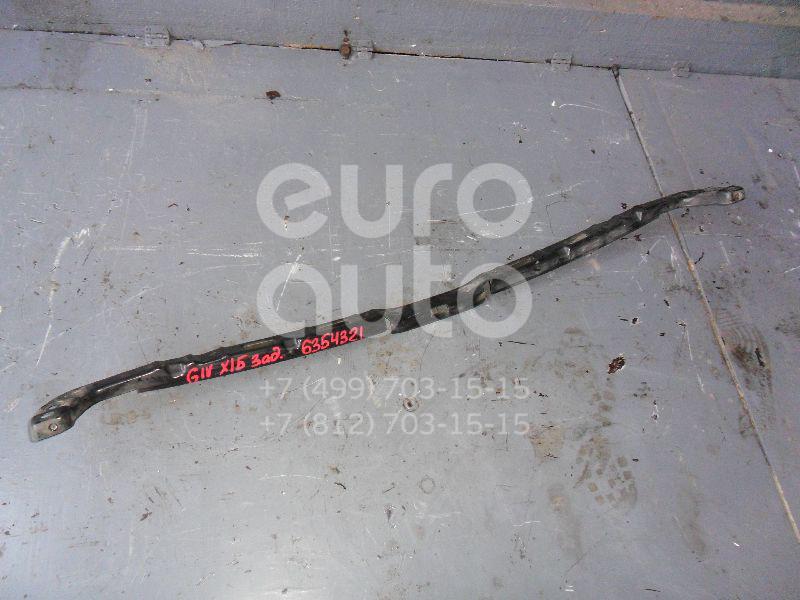 Направляющая заднего бампера для VW Golf IV/Bora 1997-2005 - Фото №1