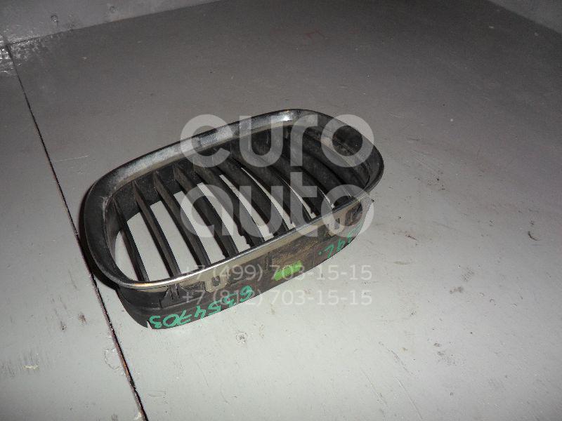 Решетка радиатора левая для BMW 5-серия E39 1995-2003 - Фото №1