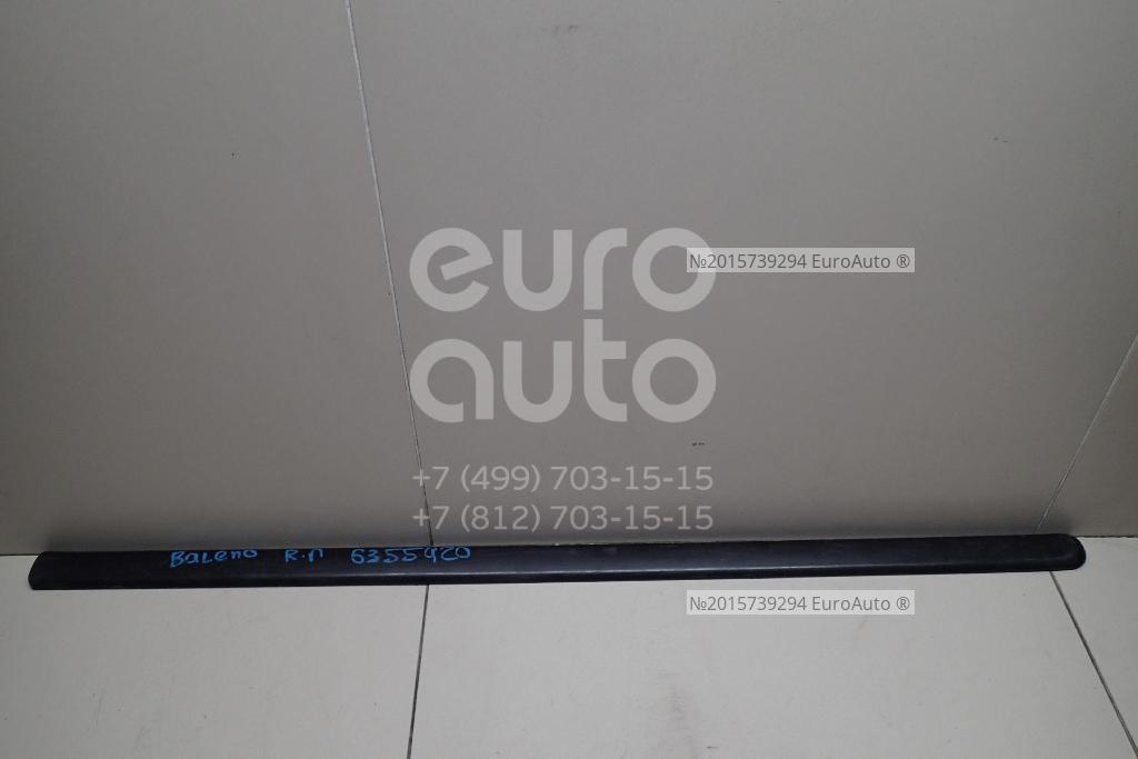 Молдинг передней правой двери для Suzuki Baleno 1998-2007;Baleno 1995-1998 - Фото №1