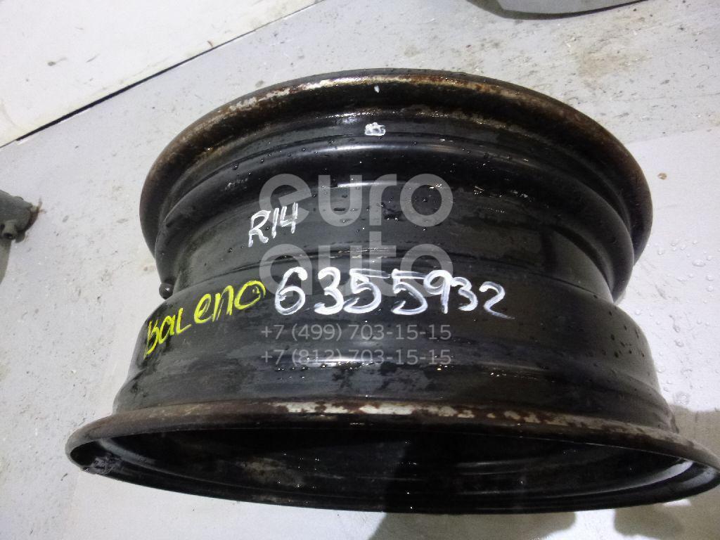 Диск колесный железо для Suzuki Baleno 1998-2007 - Фото №1