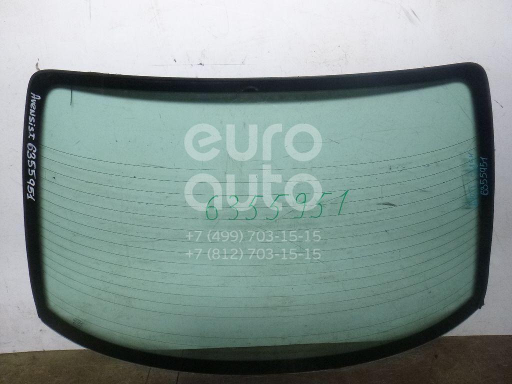 Стекло заднее для Toyota Avensis I 1997-2003 - Фото №1