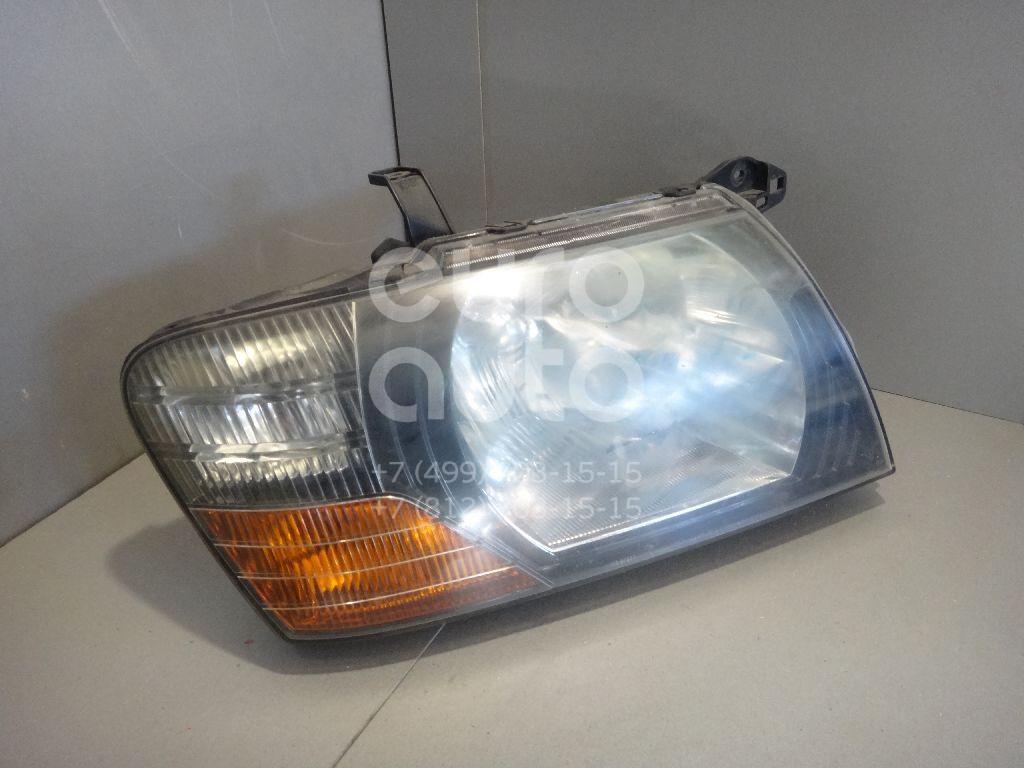 Фара правая для Mitsubishi Pajero/Montero III (V6, V7) 2000-2006 - Фото №1