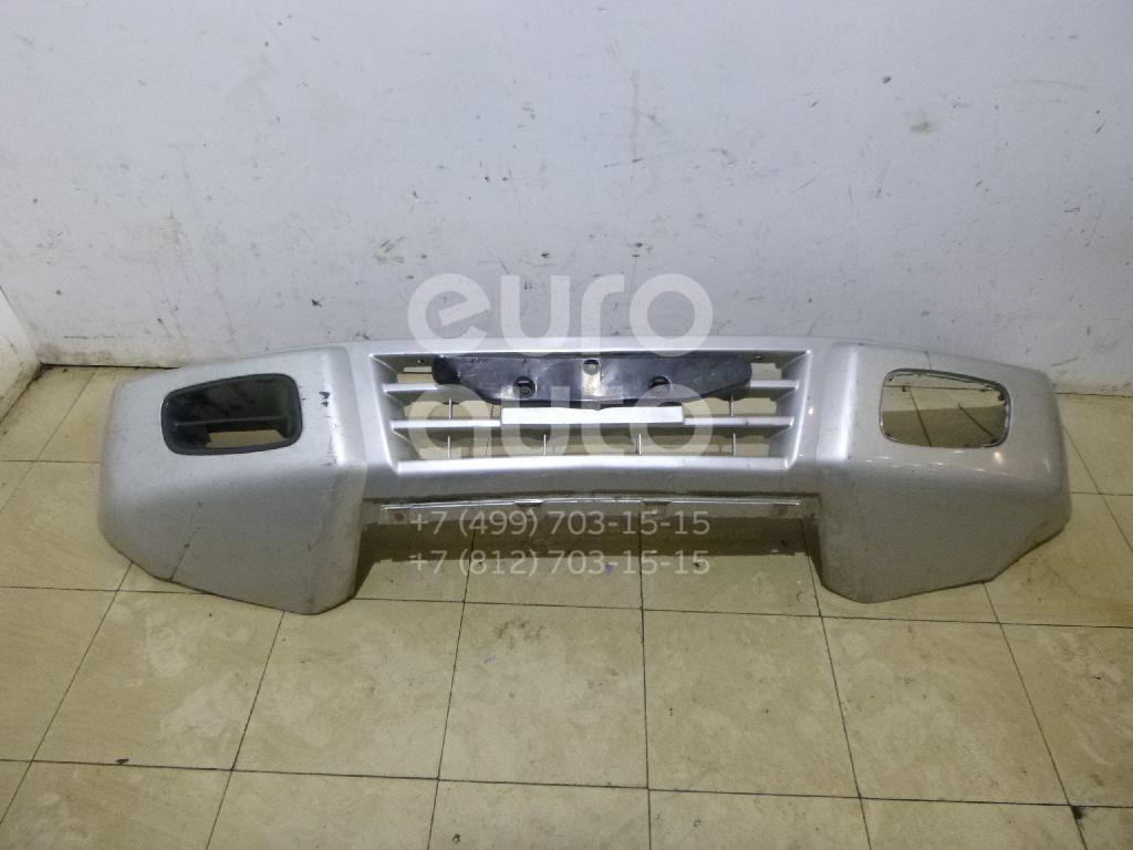 Бампер передний для Mitsubishi Pajero/Montero III (V6, V7) 2000-2006 - Фото №1