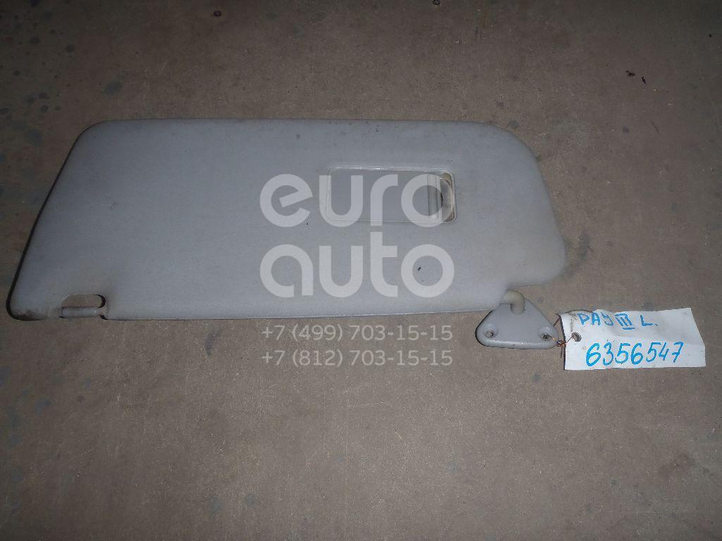 Козырек солнцезащитный (внутри) для Mitsubishi Pajero/Montero (V6, V7) 2000-2006 - Фото №1