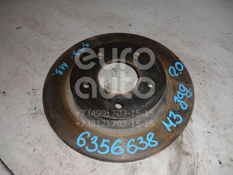 Диск тормозной задний для Mazda Mazda 3 (BK) 2002-2009 - Фото №1
