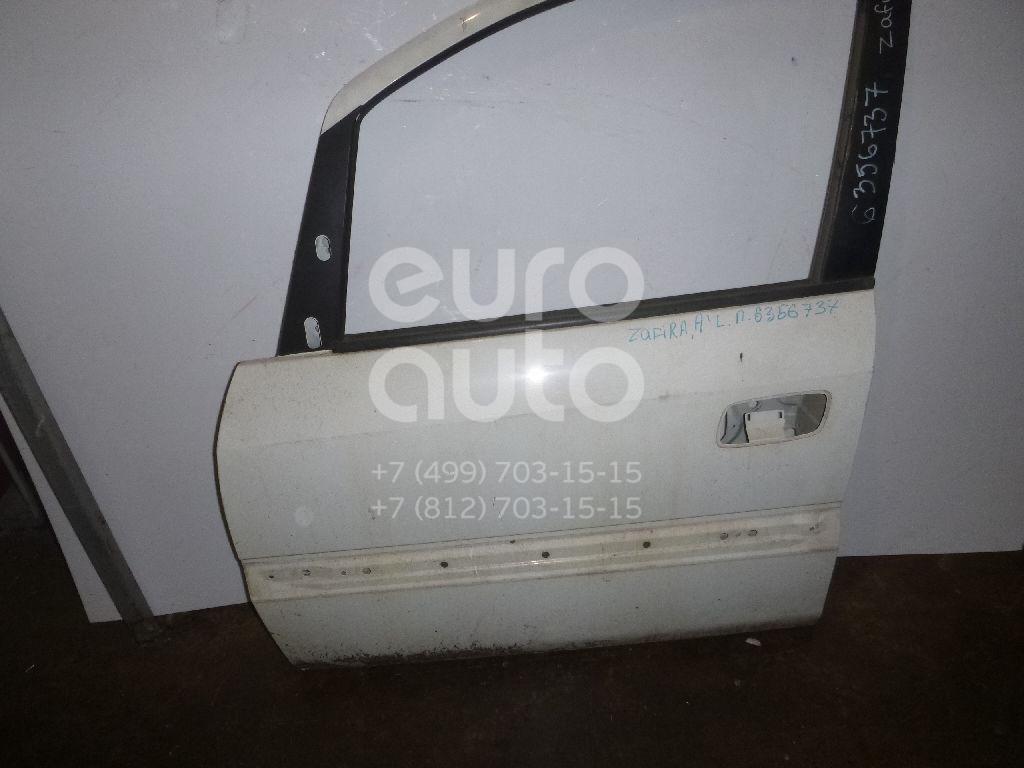 Дверь передняя левая для Opel Zafira (F75) 1999-2005 - Фото №1