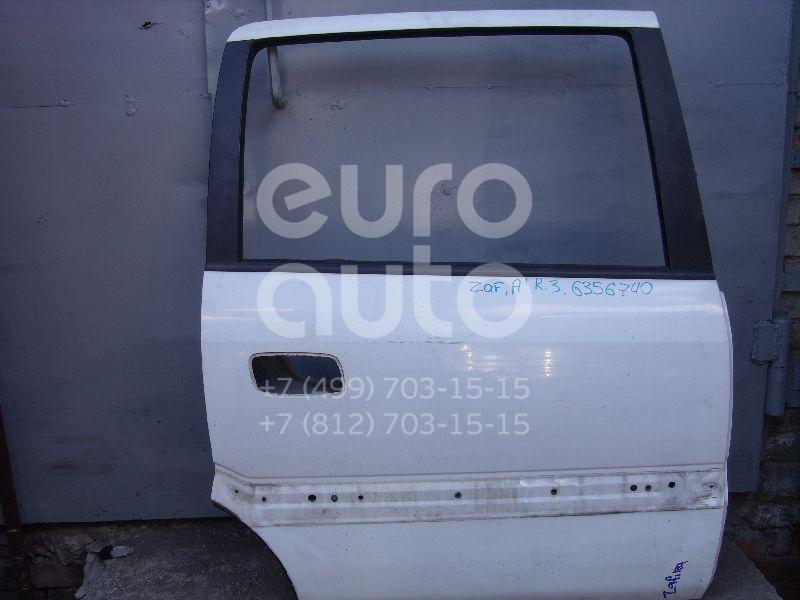 Дверь задняя правая для Opel Zafira A (F75) 1999-2005 - Фото №1