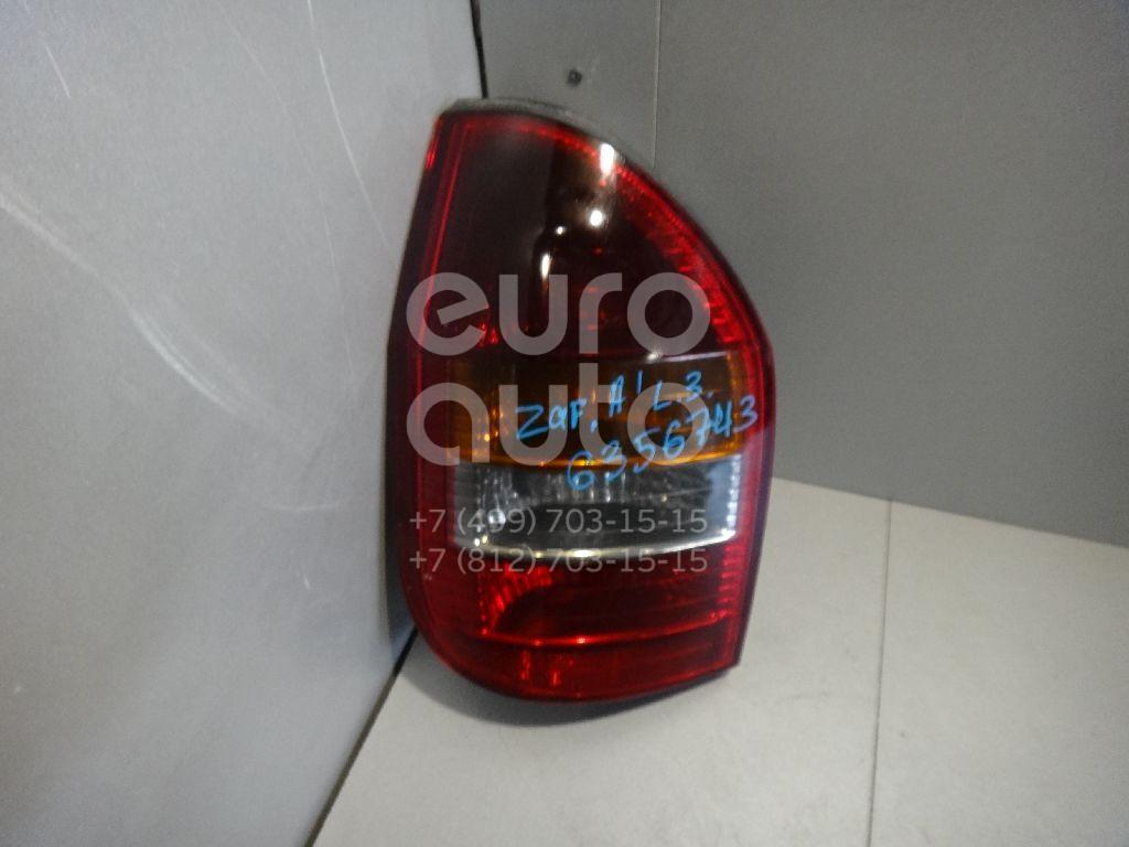 Фонарь задний левый для Opel Zafira (F75) 1999-2005 - Фото №1