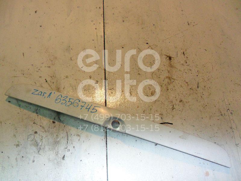 Накладка крышки багажника для Opel Zafira (F75) 1999-2005 - Фото №1