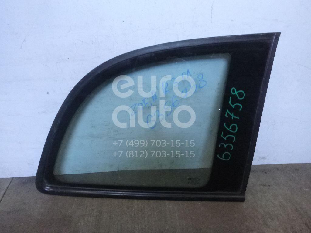 Стекло кузовное глухое правое для Opel Zafira A (F75) 1999-2005 - Фото №1