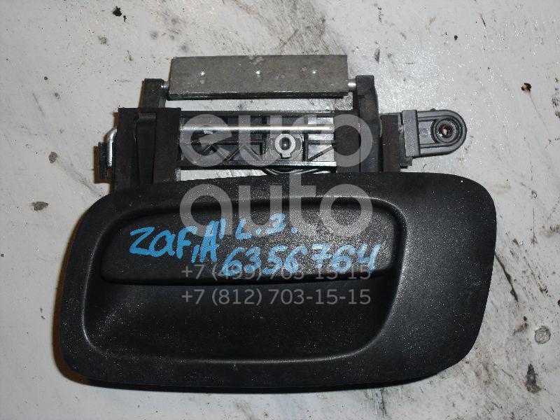 Ручка двери наружная левая для Opel Zafira (F75) 1999-2005;Astra G 1998-2005 - Фото №1