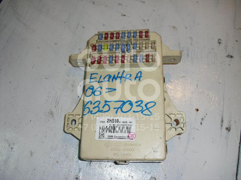 Блок предохранителей для Kia Elantra 2006-2011;Cerato 2009-2013 - Фото №1
