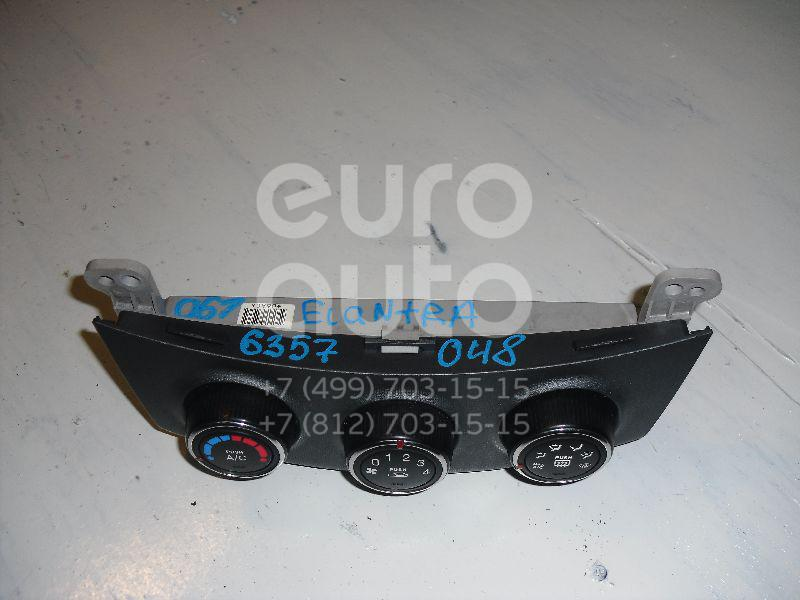 Блок управления отопителем для Hyundai Elantra 2006-2011 - Фото №1