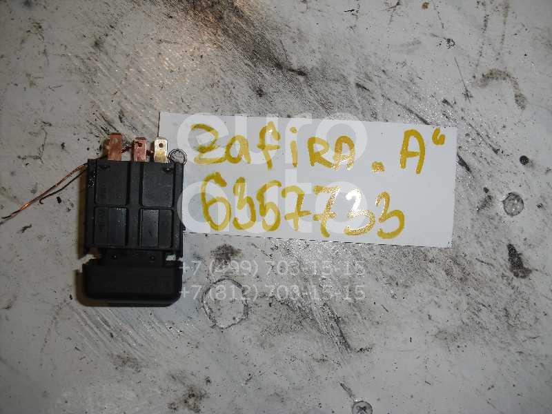 Кнопка аварийной сигнализации для Opel Zafira (F75) 1999-2005;Meriva 2003-2010 - Фото №1