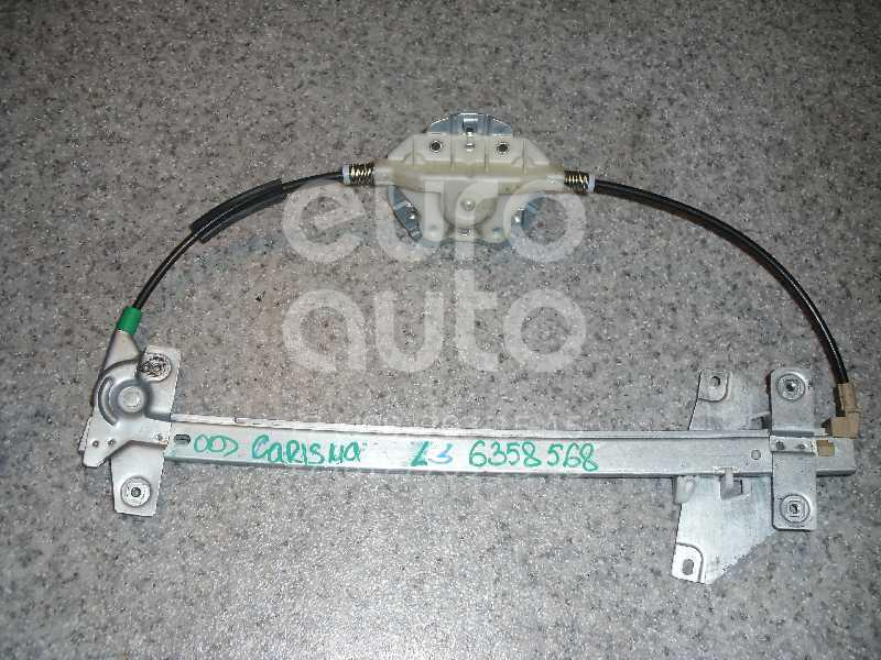Стеклоподъемник механ. задний левый для Mitsubishi Carisma (DA) 2000-2003;Carisma (DA) 1995-2000 - Фото №1