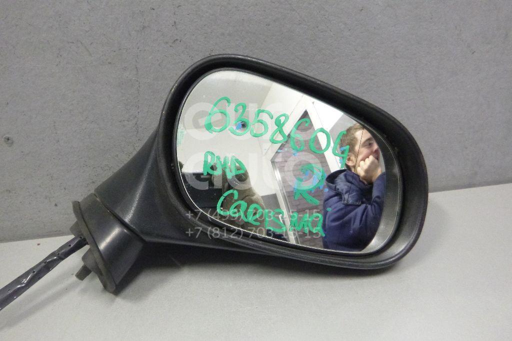 Зеркало правое механическое для Mitsubishi Carisma (DA) 2000-2003 - Фото №1