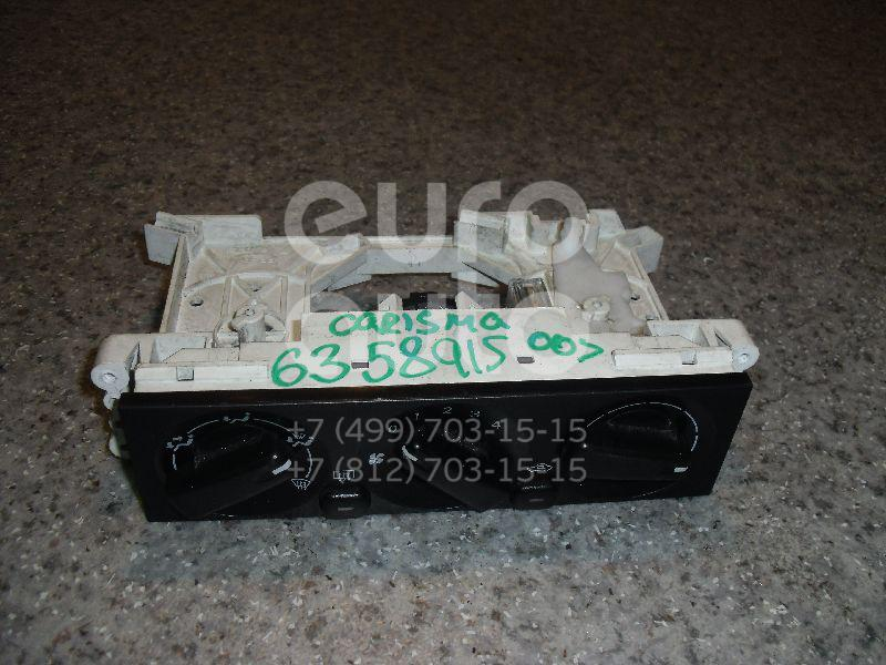Блок управления отопителем для Mitsubishi Carisma (DA) 2000-2003 - Фото №1