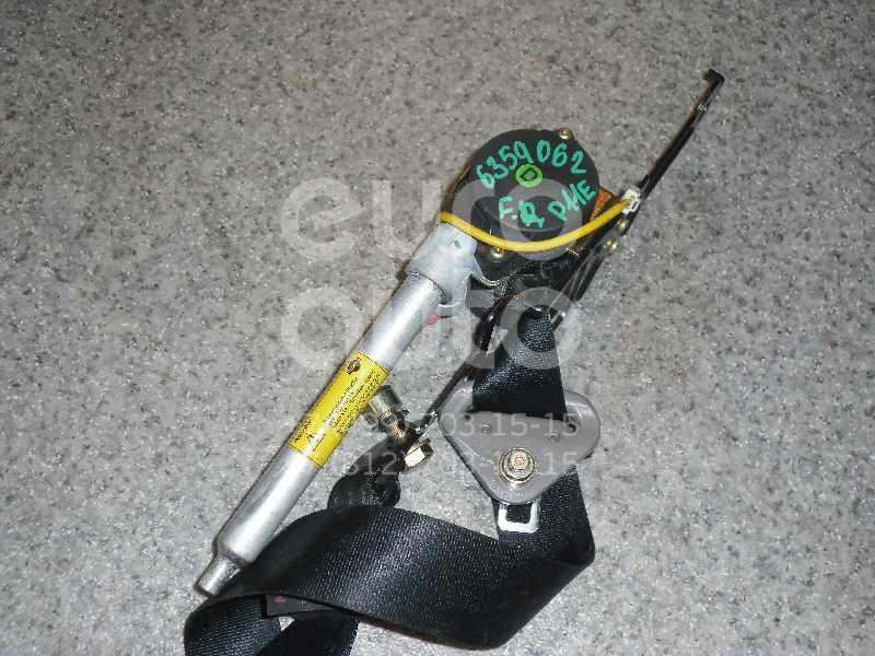 Ремень безопасности с пиропатроном для Nissan Primera P11E 1996-2002 - Фото №1