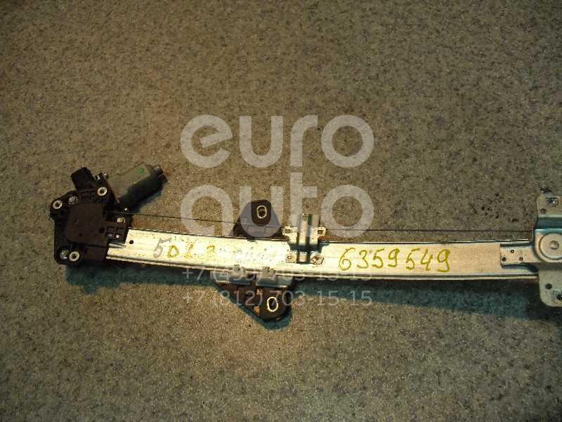 Стеклоподъемник электр. задний левый для Honda Civic 5D 2006-2012 - Фото №1