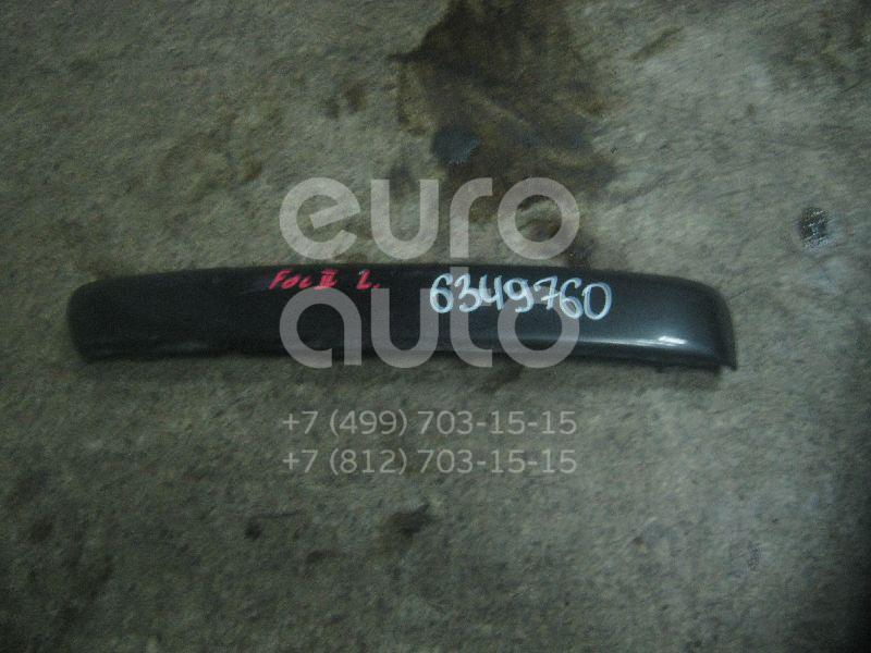 Накладка переднего бампера левая для Ford Focus II 2005-2008 - Фото №1