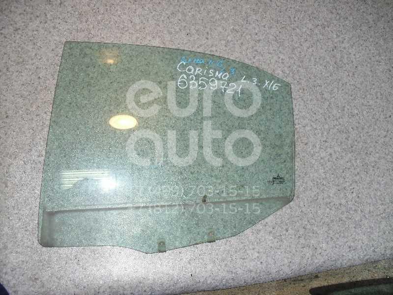 Стекло двери задней левой для Mitsubishi Carisma (DA) 2000-2003;Carisma (DA) 1995-2000 - Фото №1