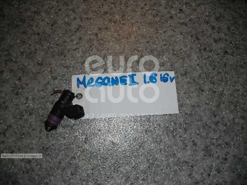 Форсунка инжекторная электрическая для Renault Megane II 2002-2009;Scenic 2003-2009 - Фото №1