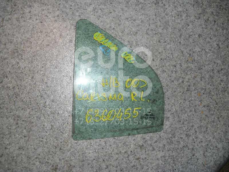 Стекло двери задней левой (форточка) для Mitsubishi Carisma (DA) 1999-2003;Carisma (DA) 1995-1999 - Фото №1
