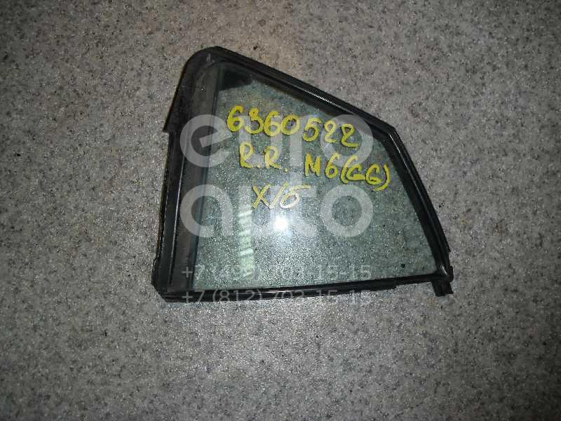 Стекло двери задней правой (форточка) для Mazda Mazda 6 (GG) 2002-2007 - Фото №1