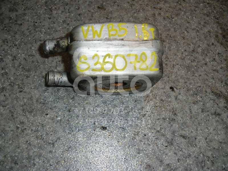 Радиатор масляный для VW,Audi,Skoda,Seat Passat [B5] 2000-2005;A2 [8Z0] 2000-2005;A3 (8L1) 1996-2003;A4 [B5] 1994-2001;TT(8N) 1998-2006;Octavia (A4 1U-) 2000-2011;Leon (1M1) 1999-2006;Toledo II 1999-2006;Octavia 1997-2000 - Фото №1