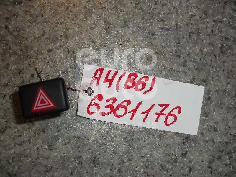 Кнопка аварийной сигнализации для Audi A4 [B6] 2000-2004;A4 [B7] 2005-2007 - Фото №1