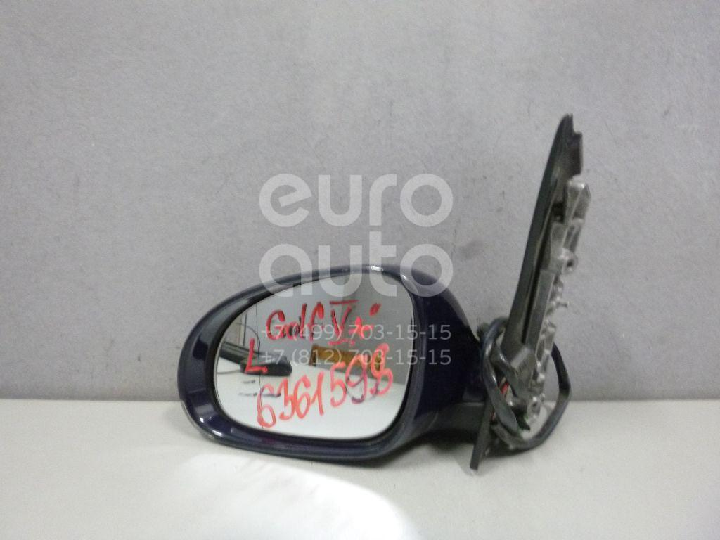 Зеркало левое электрическое для VW Golf V Plus 2005-2014 - Фото №1