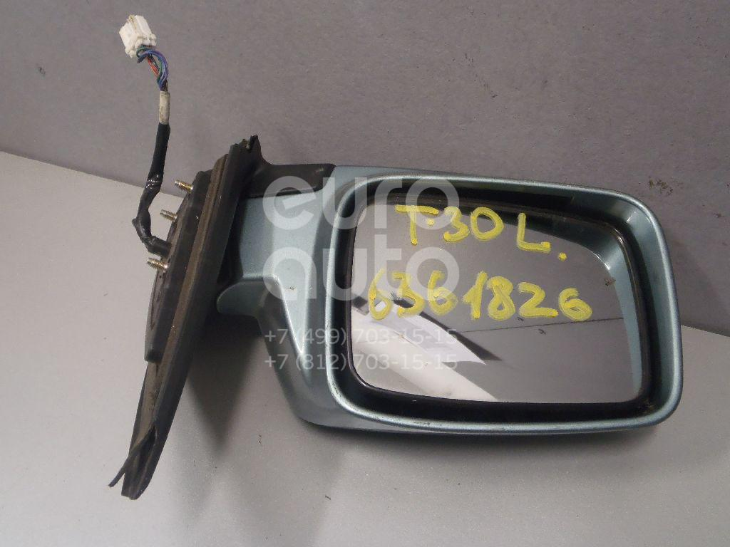 Зеркало левое электрическое для Nissan X-Trail (T30) 2001-2006 - Фото №1
