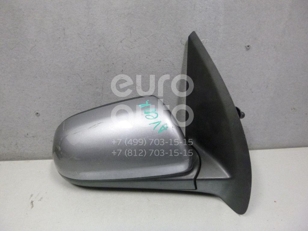 Зеркало правое механическое для Chevrolet Aveo (T250) 2005-2011 - Фото №1