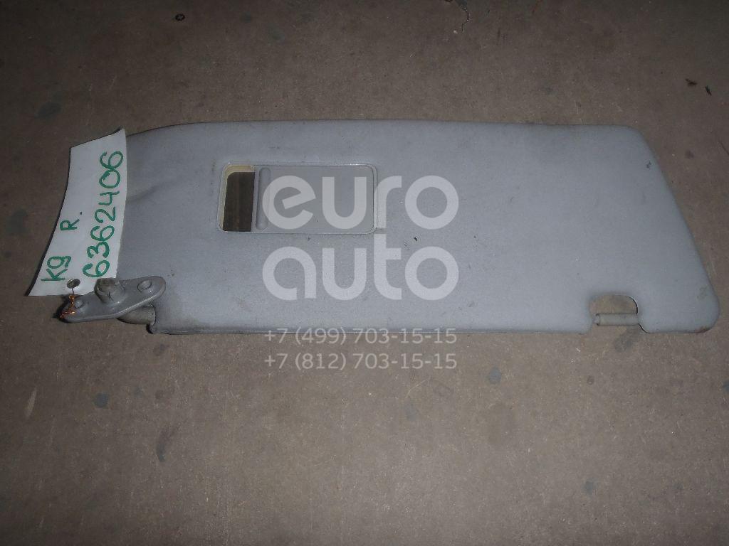 Козырек солнцезащитный (внутри) для Mitsubishi Pajero/Montero Sport (K9) 1998-2008 - Фото №1