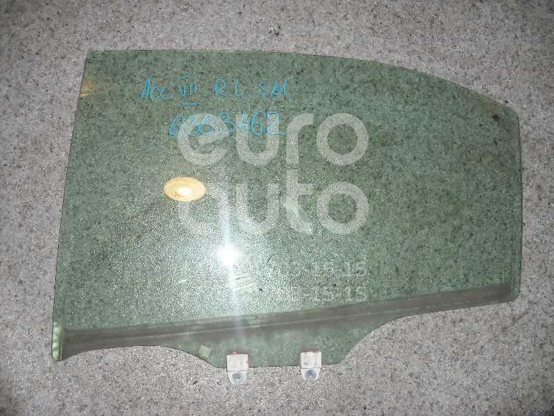 Стекло двери задней левой для Honda Accord VII 2003-2007 - Фото №1