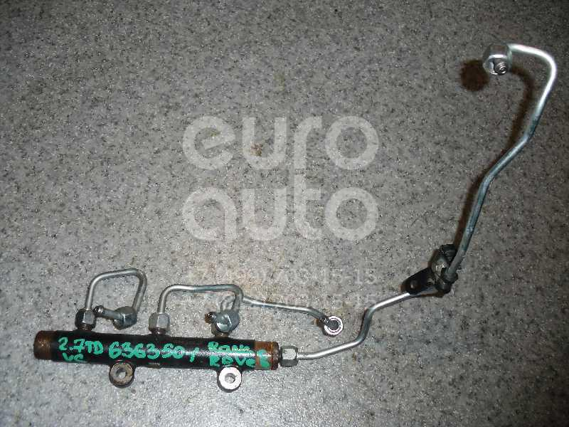 Рейка топливная (рампа) для Land Rover Range Rover Sport 2005-2012;Discovery III 2004-2009 - Фото №1