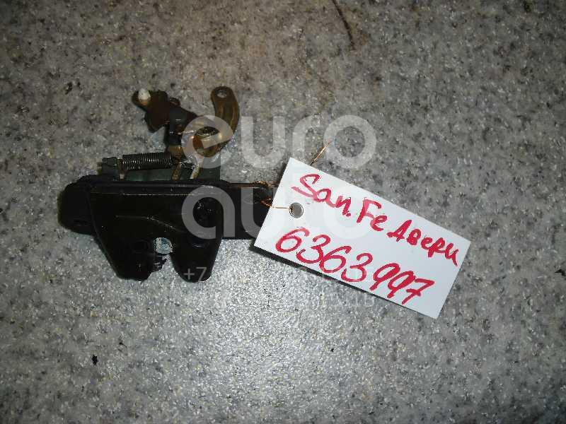 Замок багажника для Hyundai Santa Fe (SM) 2000-2005 - Фото №1