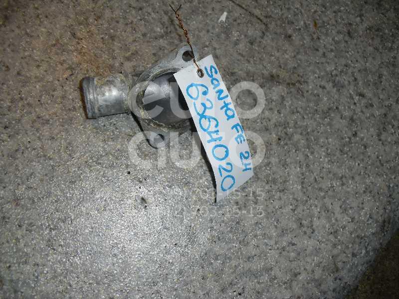Фланец двигателя системы охлаждения для Hyundai Santa Fe (SM)/ Santa Fe Classic 2000-2012 - Фото №1