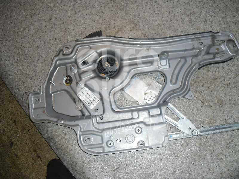 Стеклоподъемник электр. передний левый для Hyundai Santa Fe (SM)/ Santa Fe Classic 2000-2012 - Фото №1